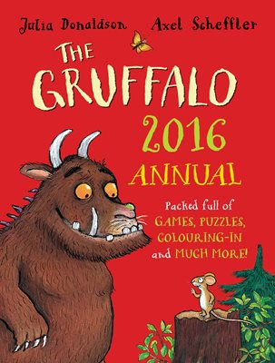 Book cover for The Gruffalo Annual 2016